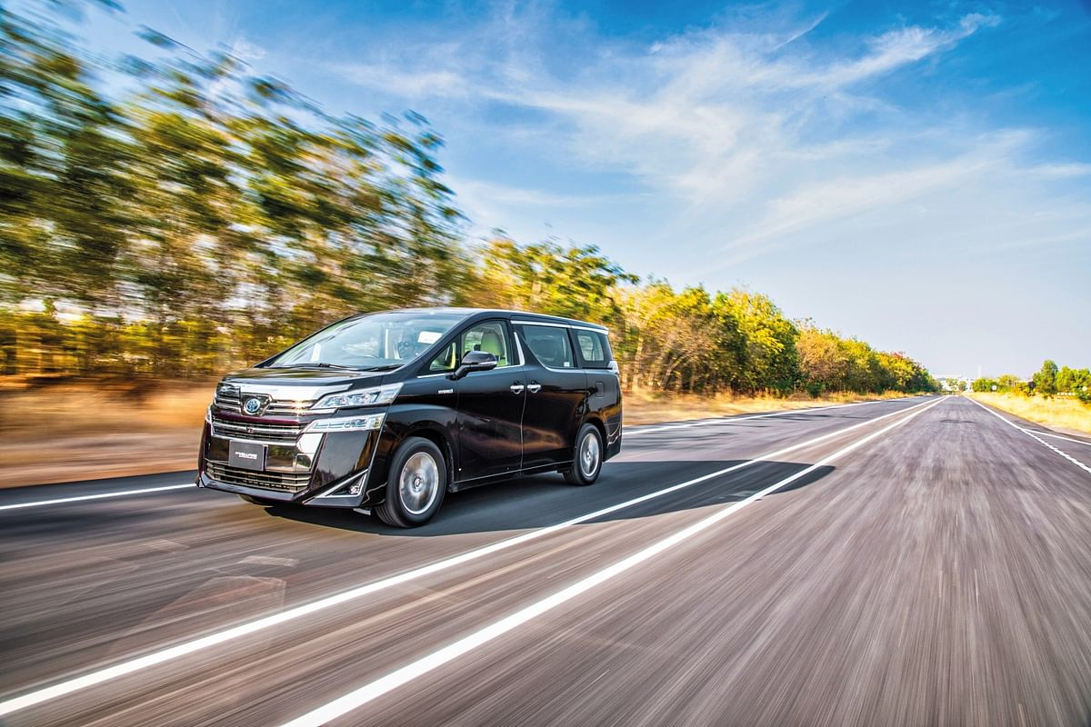 the Toyota Vellfire gets a second electric motor for the rear axles
