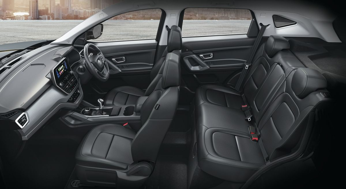 The interiors now get a combination of black seats with green stitching