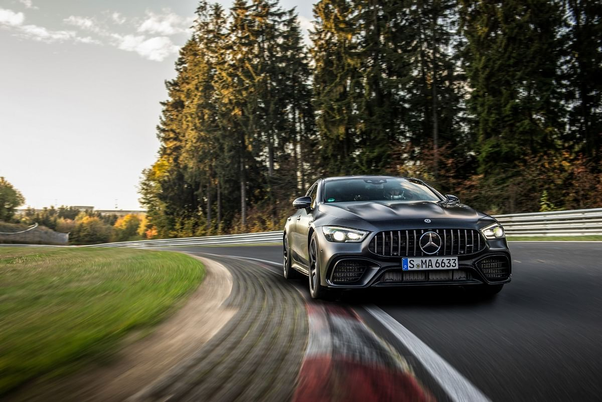 Mercedes-AMG GT 63 S 4MATIC+ sets a new lap record in the Nurburgring