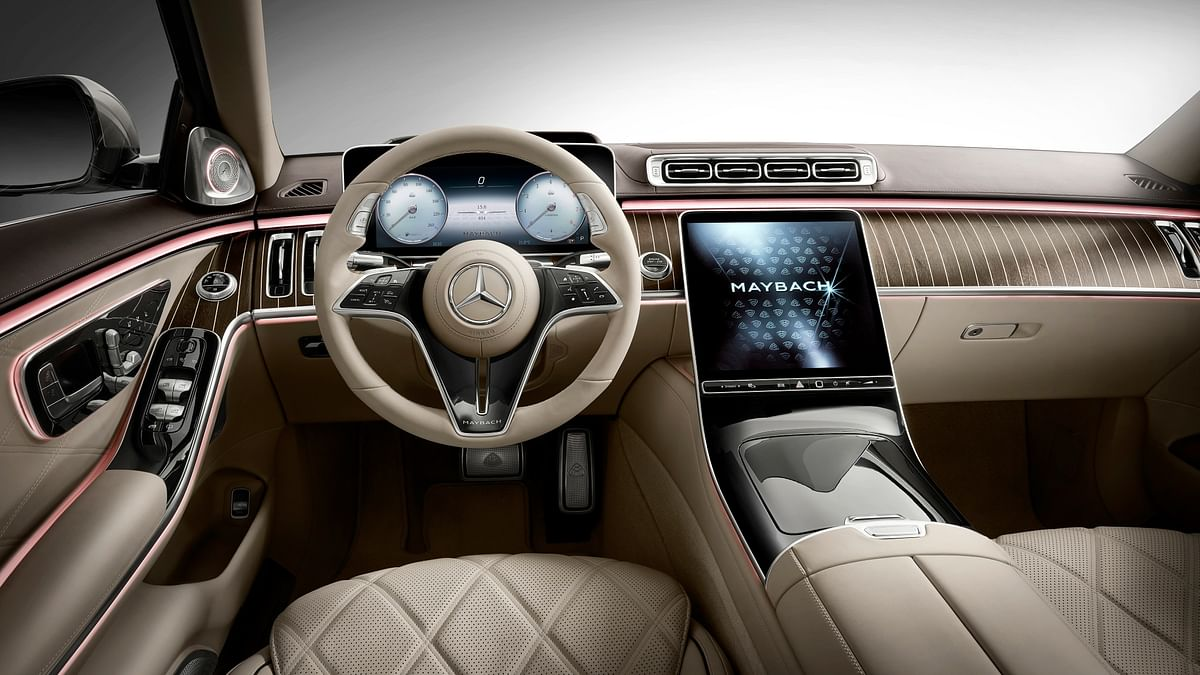 Interiors similar to the 2021 S-Class, albeit with an added dollop of luxury in terms of materials used
