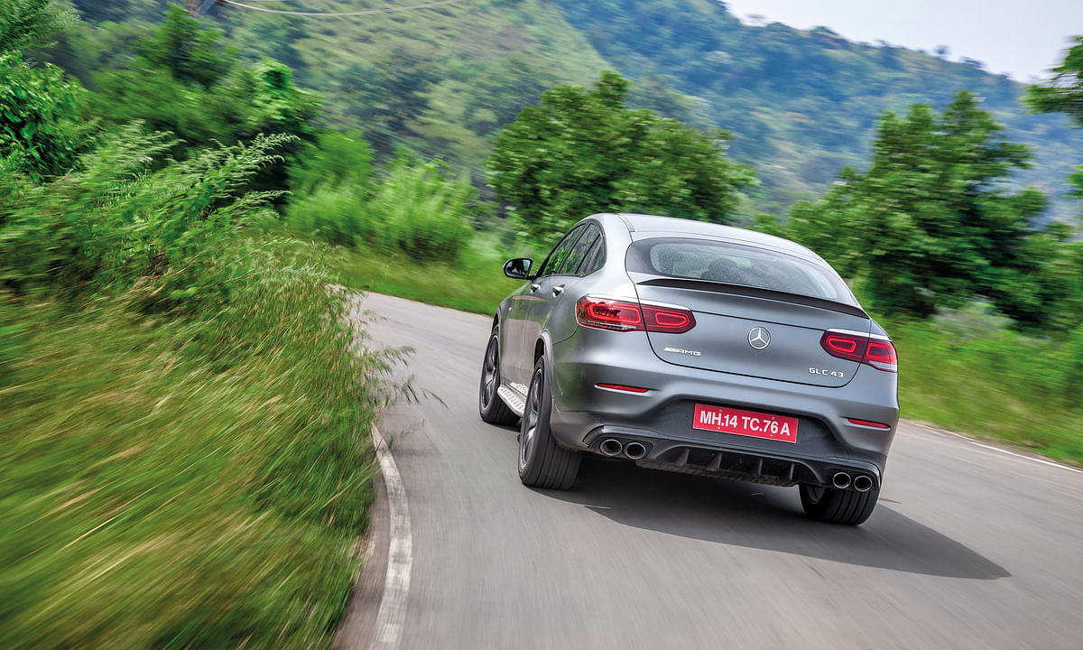 India's first locally assembled AMG, the GLC 43 AMG Coupe