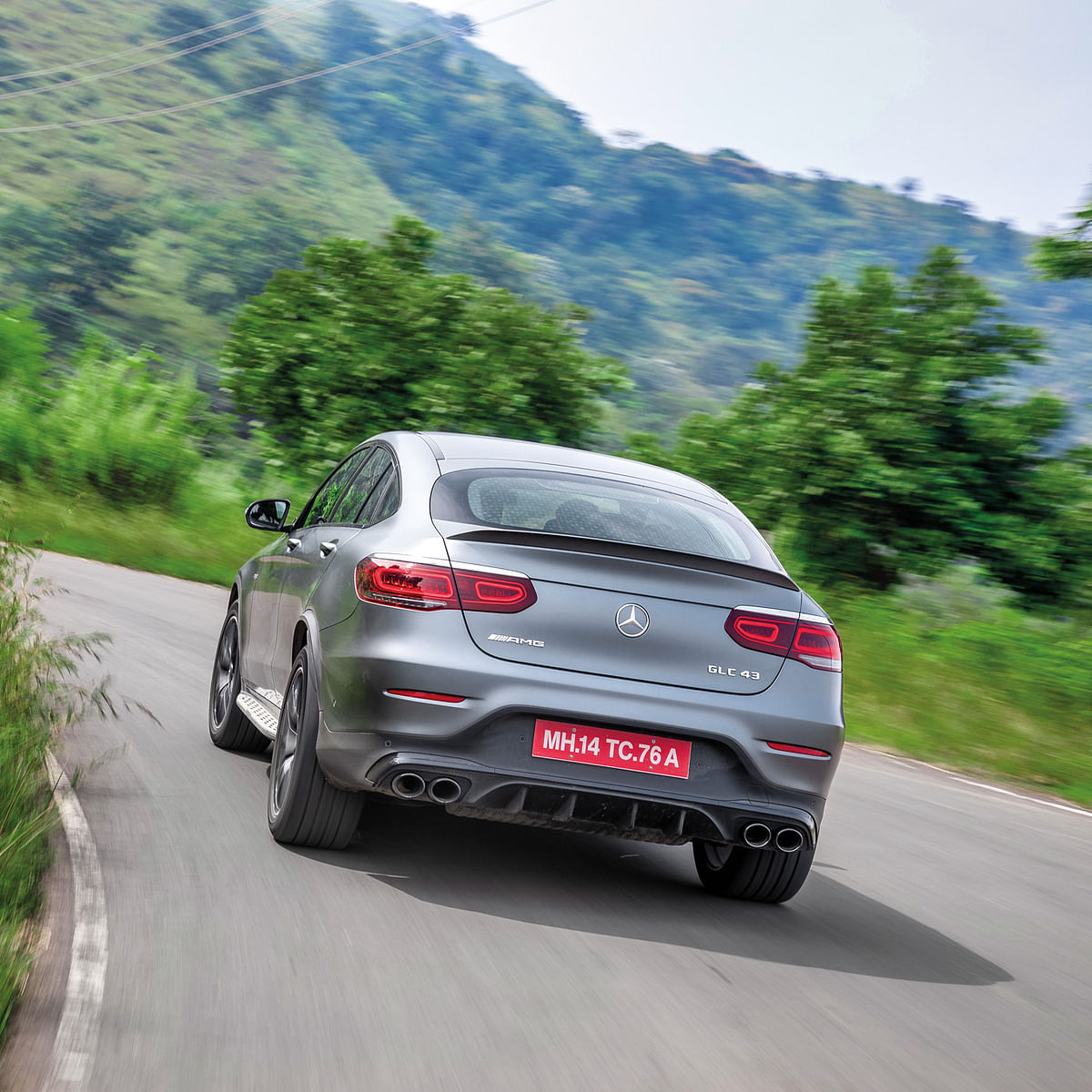 Mercedes-AMG GLC 43 Coupe review: First Made in India AMG is here!