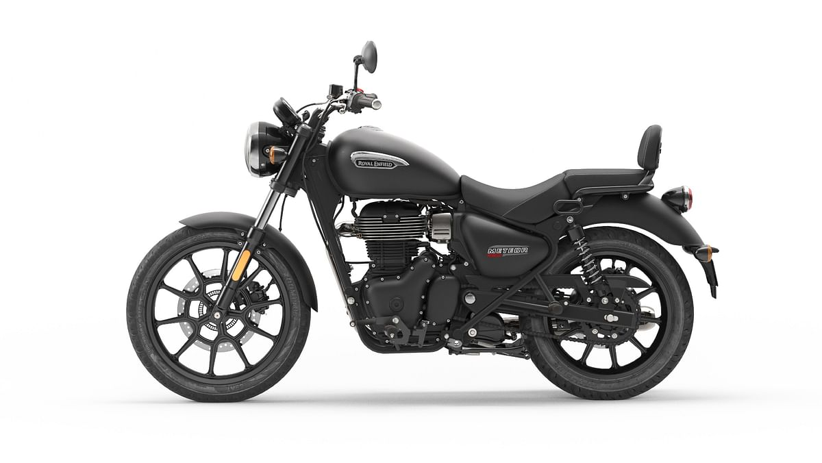 The Meteor 350 replaces the Thunderbird in the Royal Enfield lineup