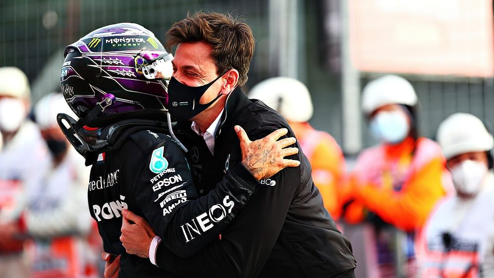 Hamilton's Imola victory leads Mercedes to seventh straight Constructor's win