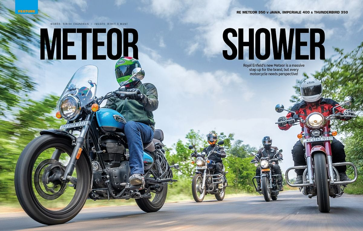 We pit the Meteor 350 against the Jawa and Imperiale 400