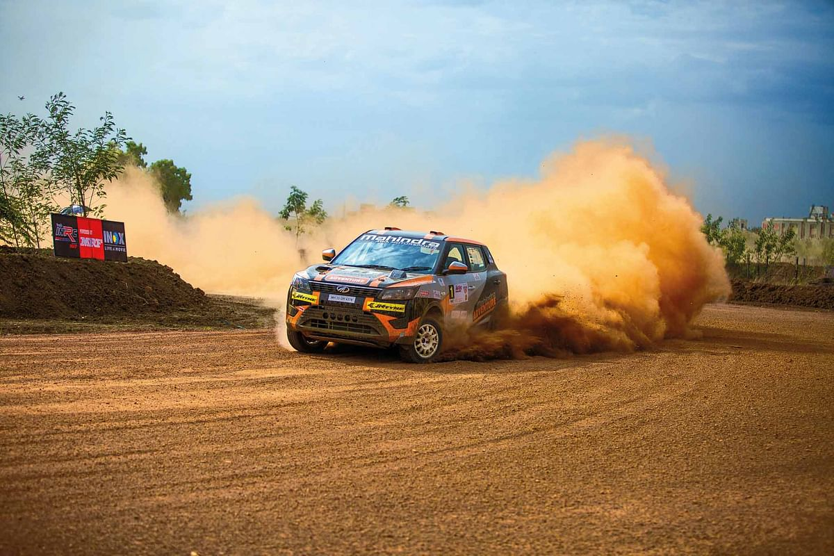 Piloted by the fastest rally driver in India, Gaurav Gill