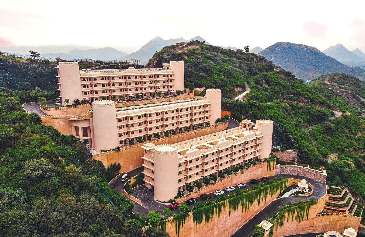 Aurika Udaipur really looks like a castle on a hill1