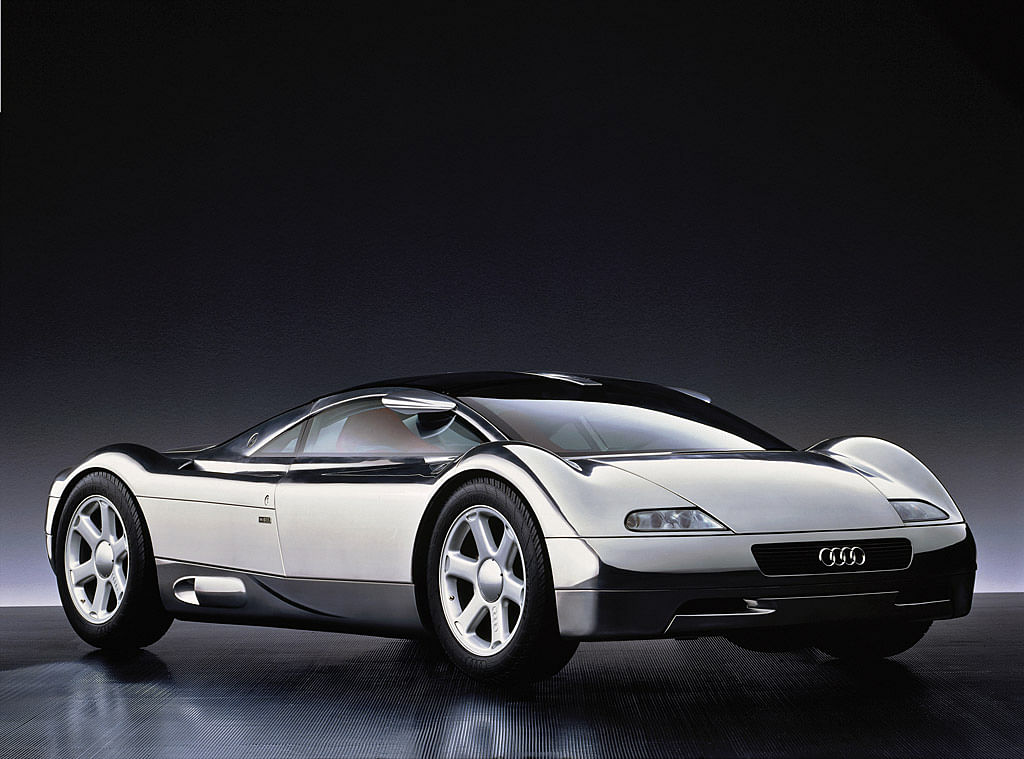 1991 Audi Avus concept. All resemblances to the Bugatti Veyron are purely coincidental