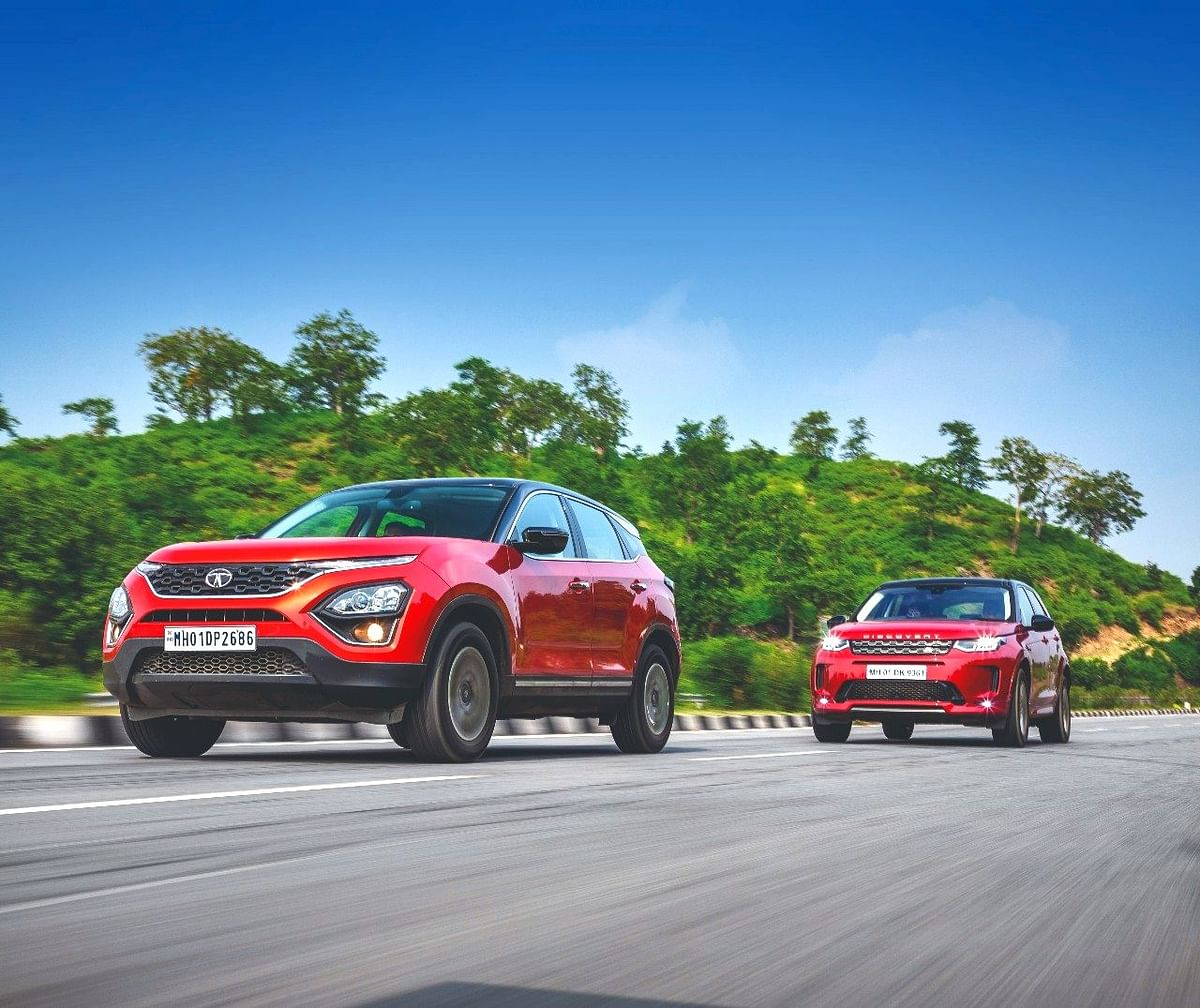 Tata Harrier and Land Rover Discovery Sport on Trippin with LemonTree Hotels!