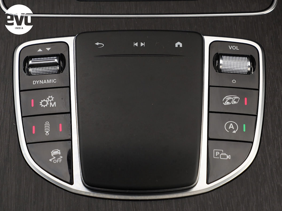 Changing the GLC 43's character on tap of a button