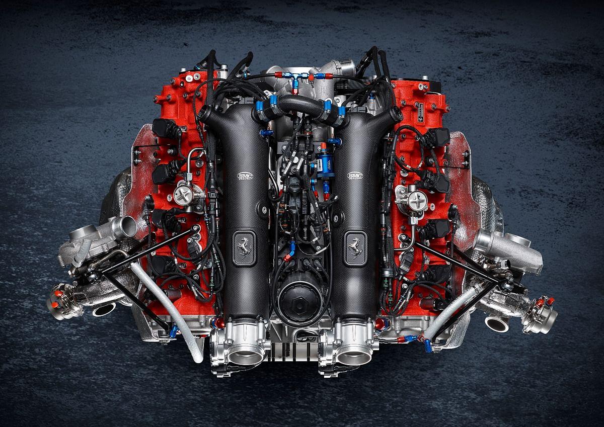 The heart and soul of the Ferrari 488 GT Modificata