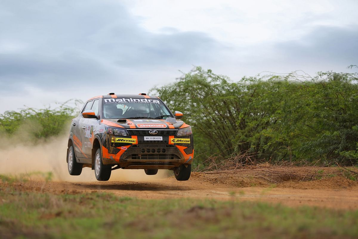Mahindra Adventure fielded some of the fastest cars at the INRC