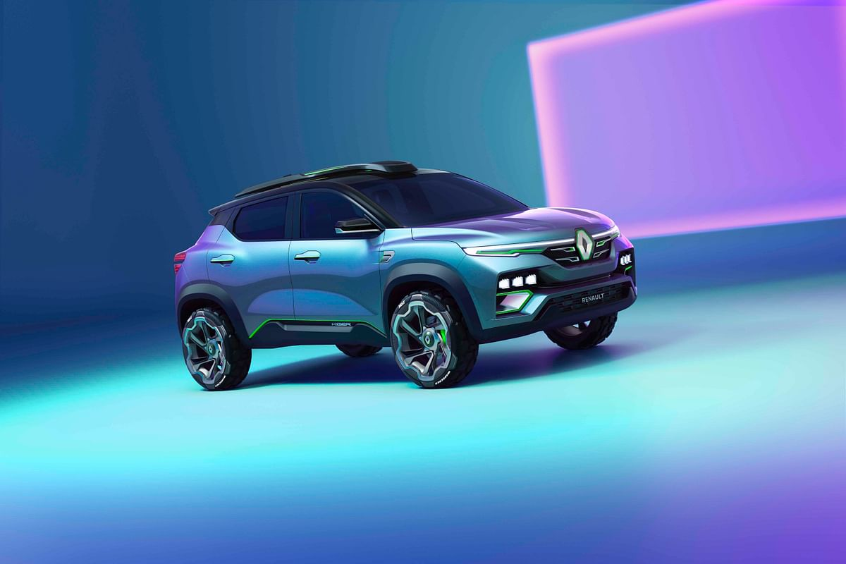 Renault Kiger compact SUV previewed