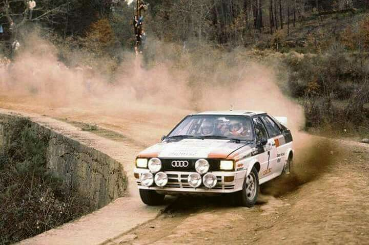 Michele Mouton at the 1982 Rally Portugal