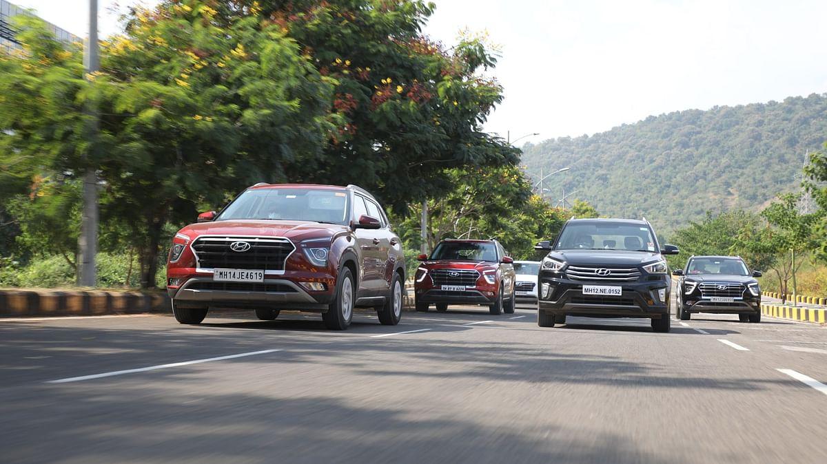 Hyundai Creta was the flavour of the day!