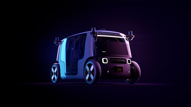 At just 3.63 metres long, Zoox is smaller than other autonomous vehicles and that makes it ideal for crowded cities.