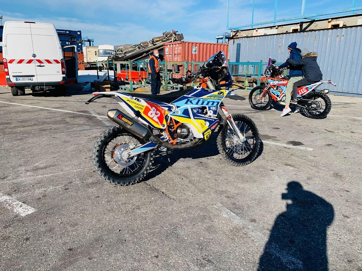 Ashish will ride the 2019 Rally Replica