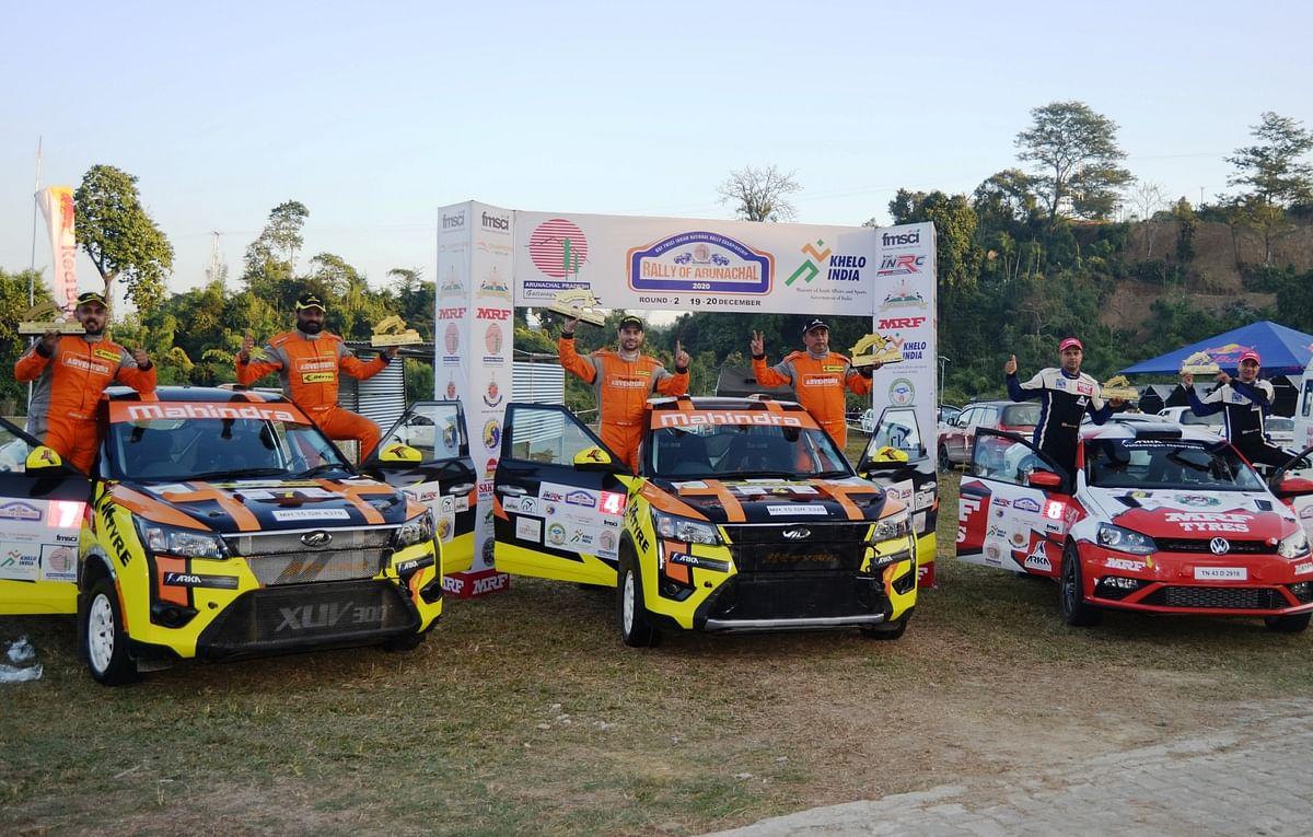 Gaurav Gill repeats the feat at Itanagar