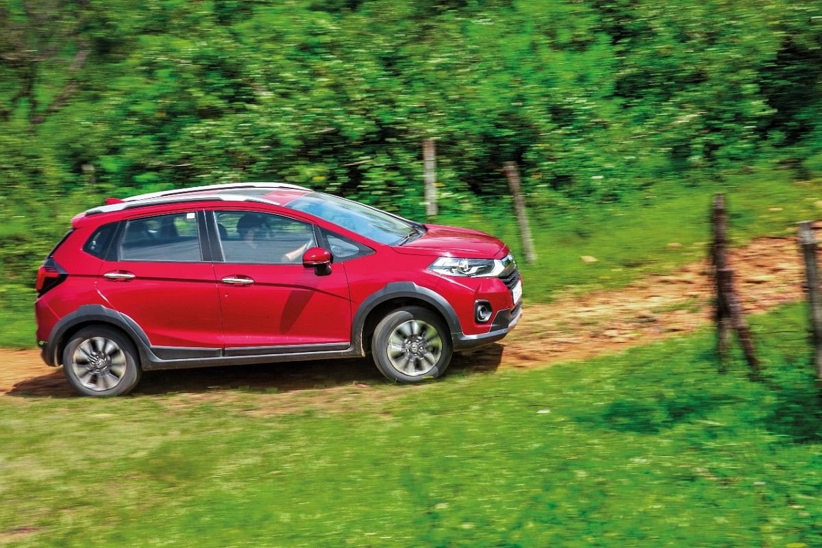 The WR-V has the ability to go beyond the tarmac