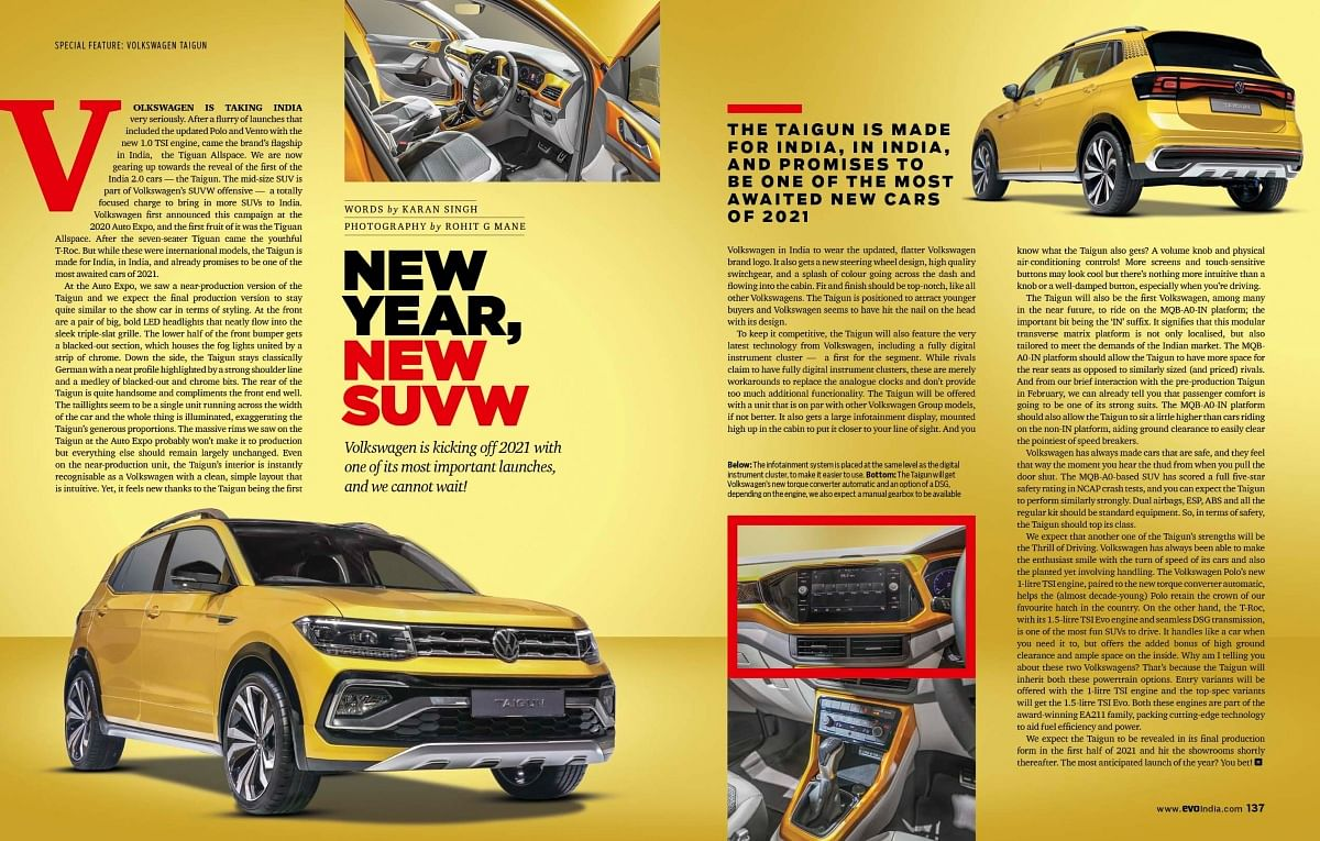 This year VW plans to bring a new SUVW in its lineup. Know more about it