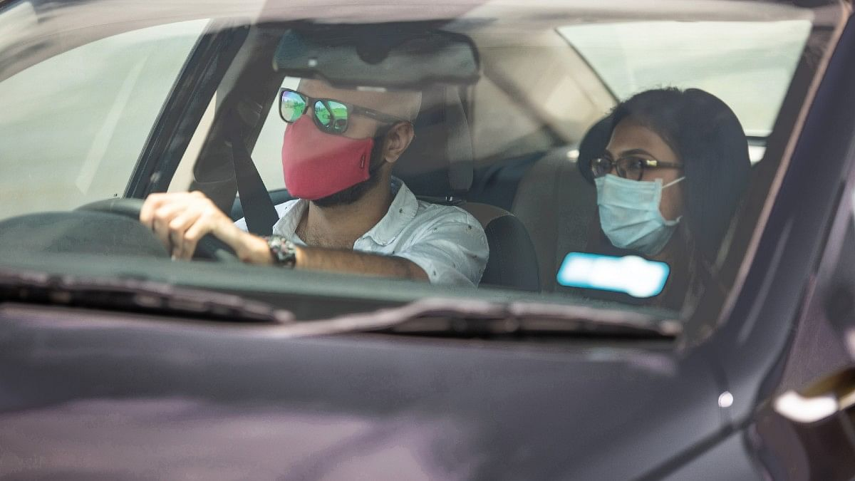 Wearing a mask while travelling is a must to keep yourself and others around you safe.