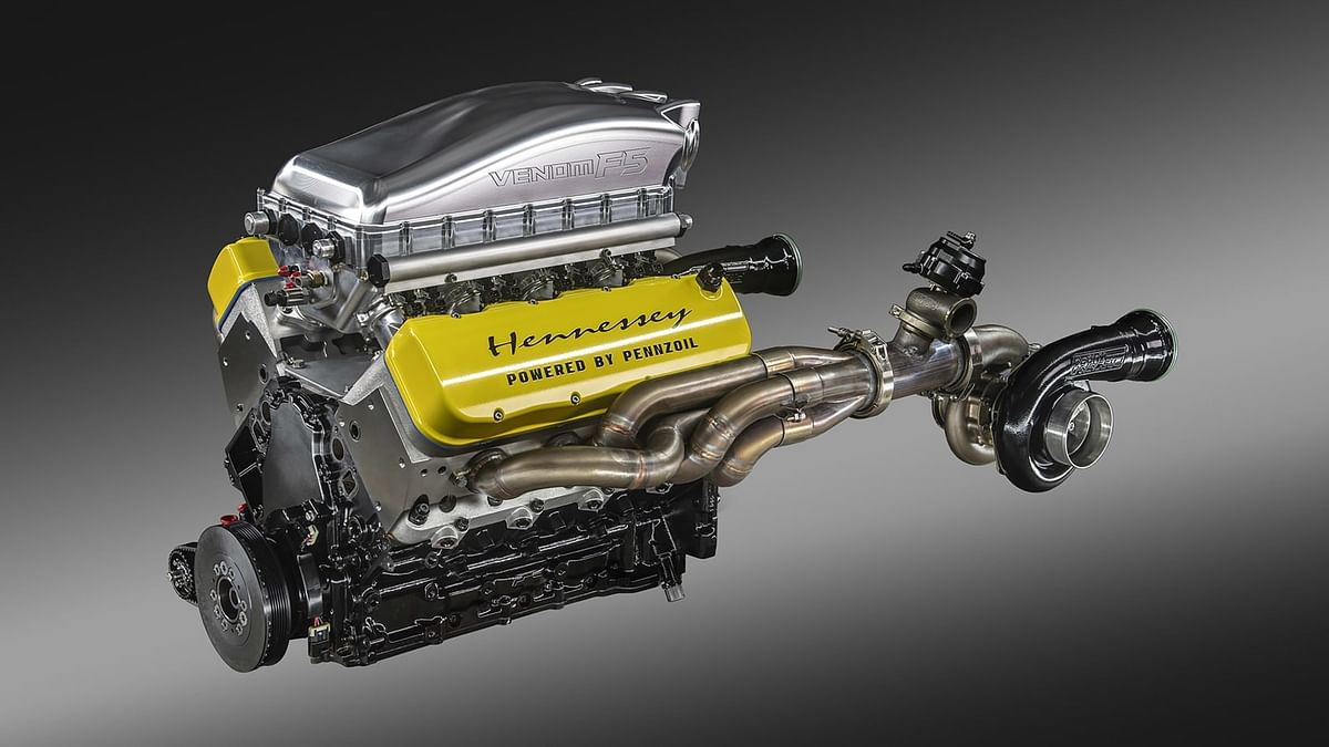 6.6-litre twin-turbo V8 makes over 1800bhp and 1600Nm!