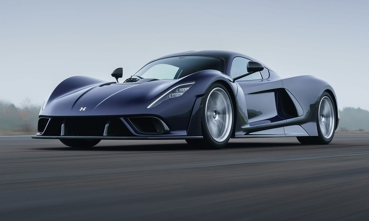 Hennessey Performance unveils the Venom F5 hypercar in production form