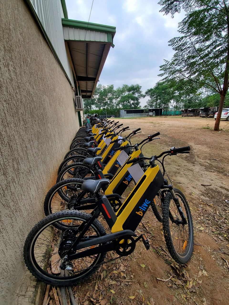 With the collaboration with BLive, it won't be long before you too might see these bikes cropping up in your city