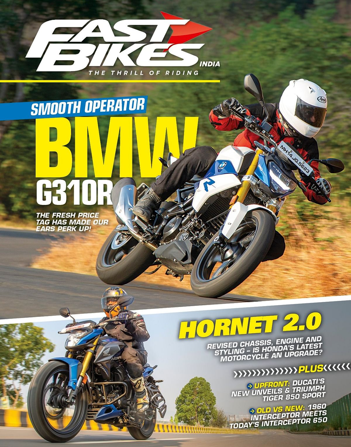 We get our hands on the new Honda Hornet 2.0 and BMW G 310 R