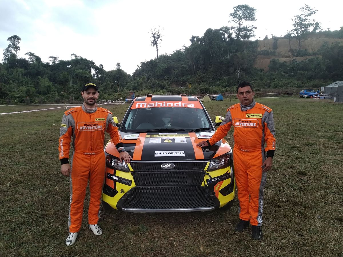 Gaurav Gill wins Round 1 of the Indian National Rally Championship