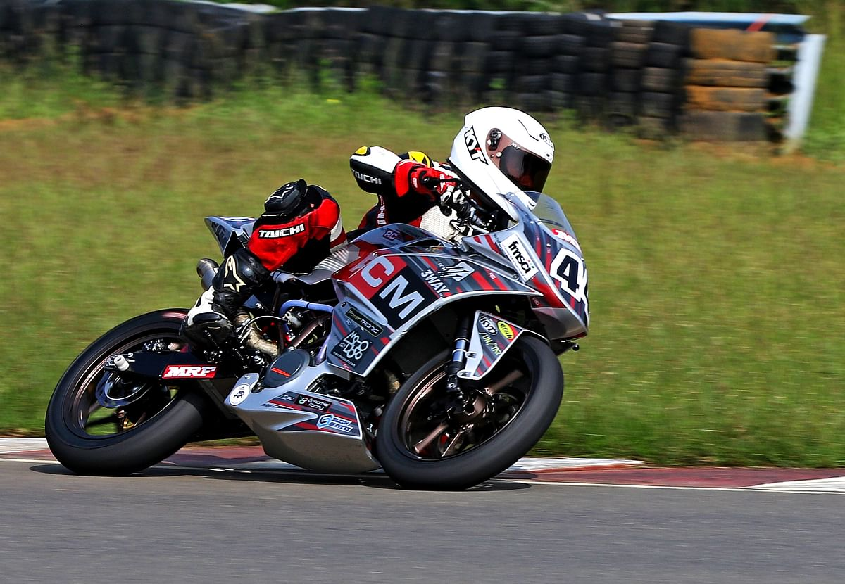 Anish Shetty was very fast throughout the weekend