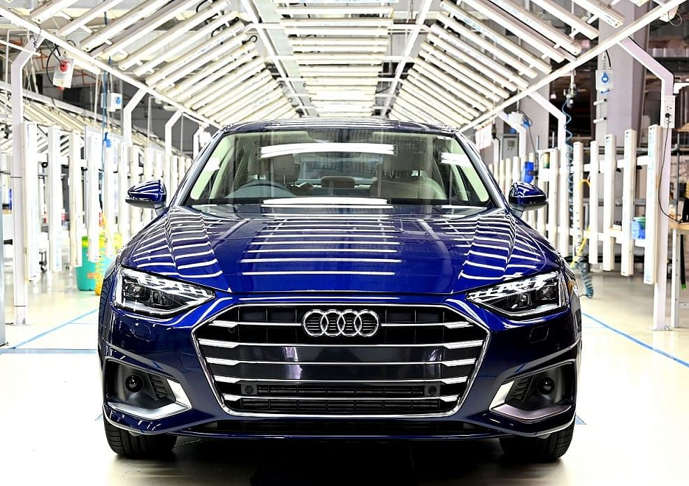 Audi A4 facelift will mainly rival the Mercedes-Benz C-Class and the BMW 3 Series