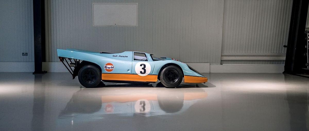 a replica scale model of a Porsche 917