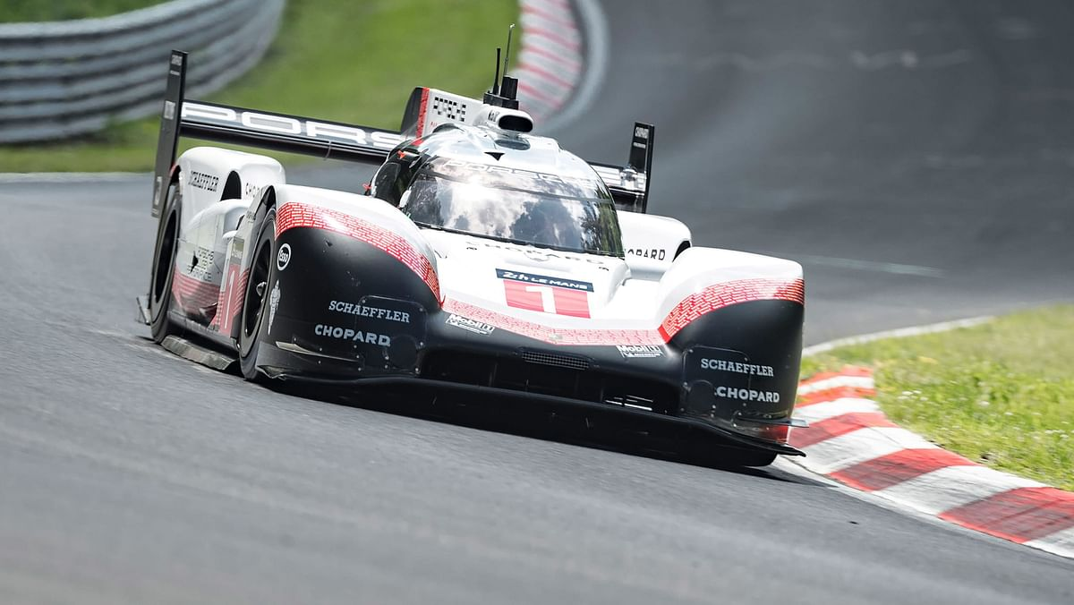 The 919 Evo obliterated the all-time Nordschleife lap record, with driver Timo Bernhard completing the lap in just 5:19.546
