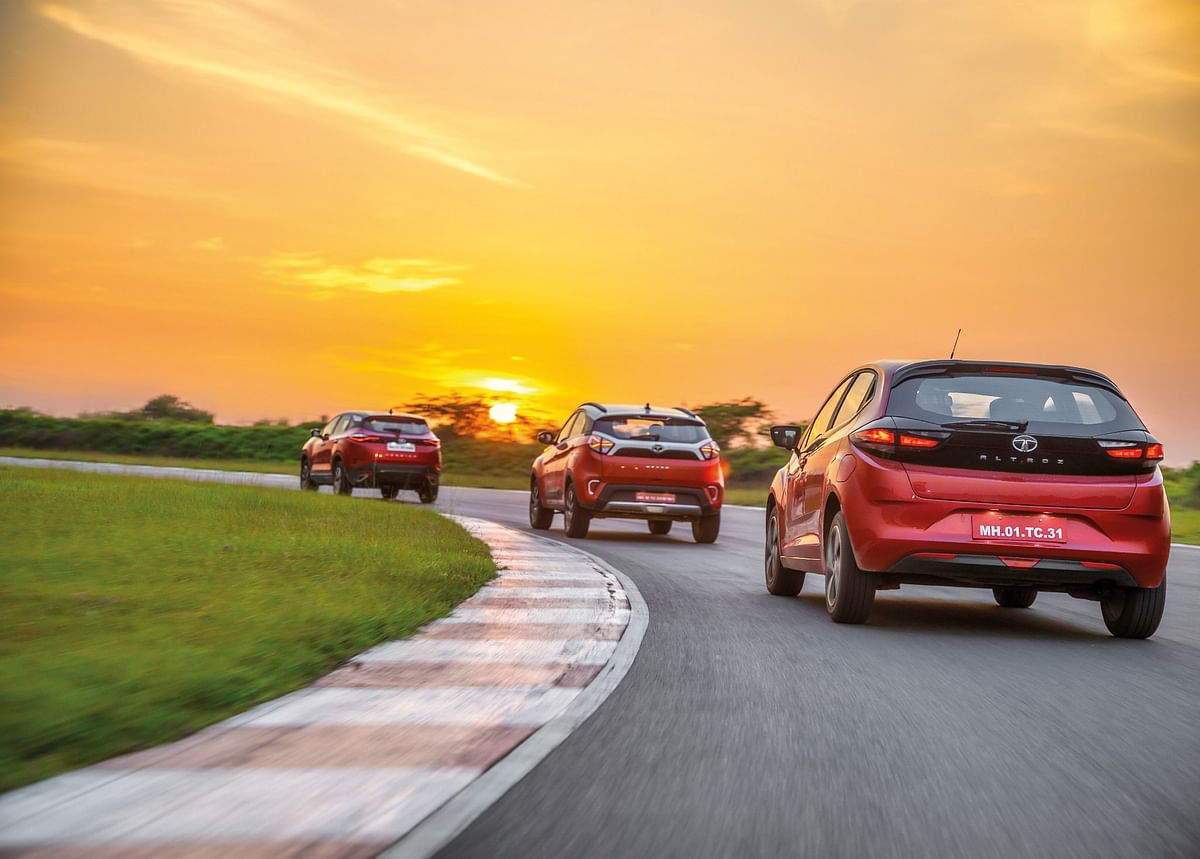 The Thrill of Diesel Part 3: Testing the dynamics of the Tata Altroz, Nexon and Harrier out on track