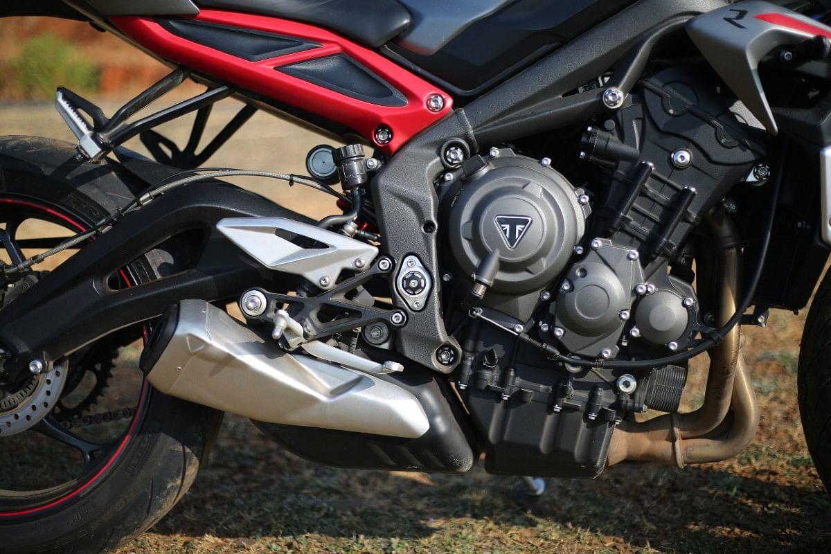The triple-motor is very refined