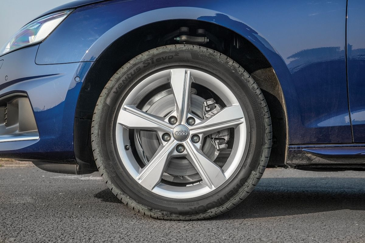 High profile tyres aid with ride quality
