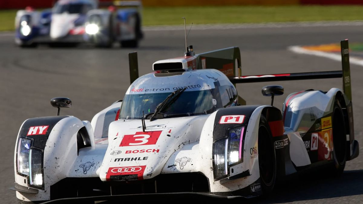 Audi achieved the first victory of a hybrid racing car in the Le Mans 24 Hours