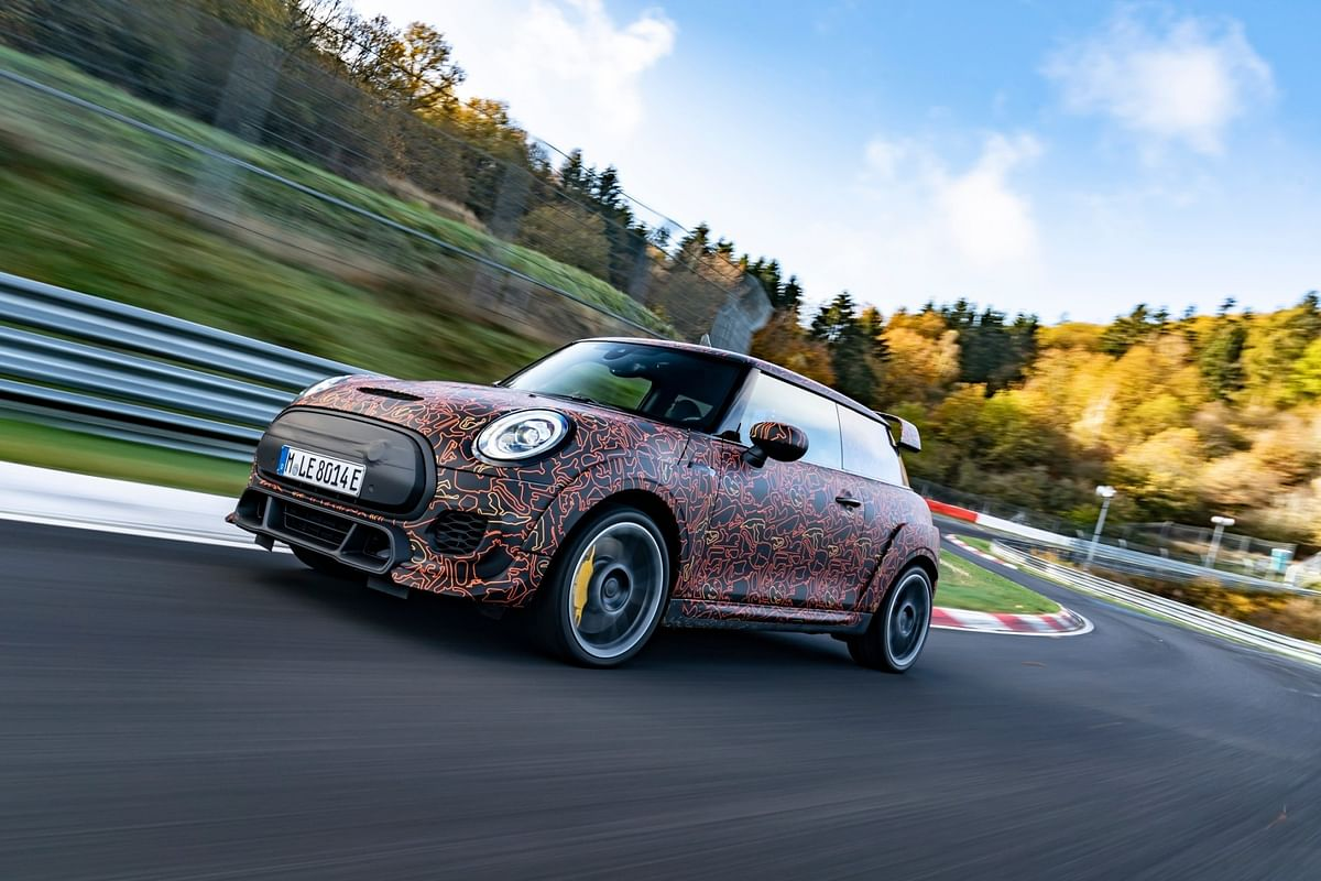 Mini Electric JCW GP hot-hatch? Yes, please!
