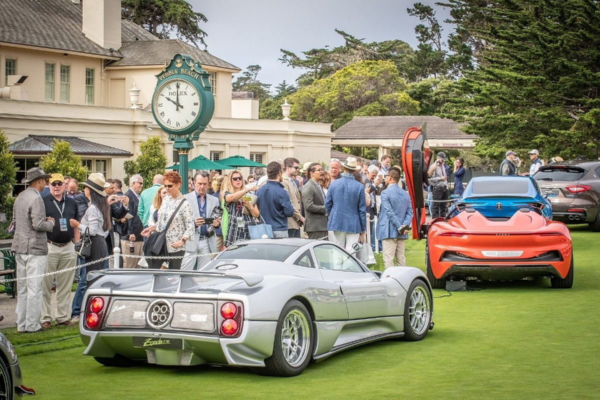 Rolex and Pebble Beach Concours D'Elegance