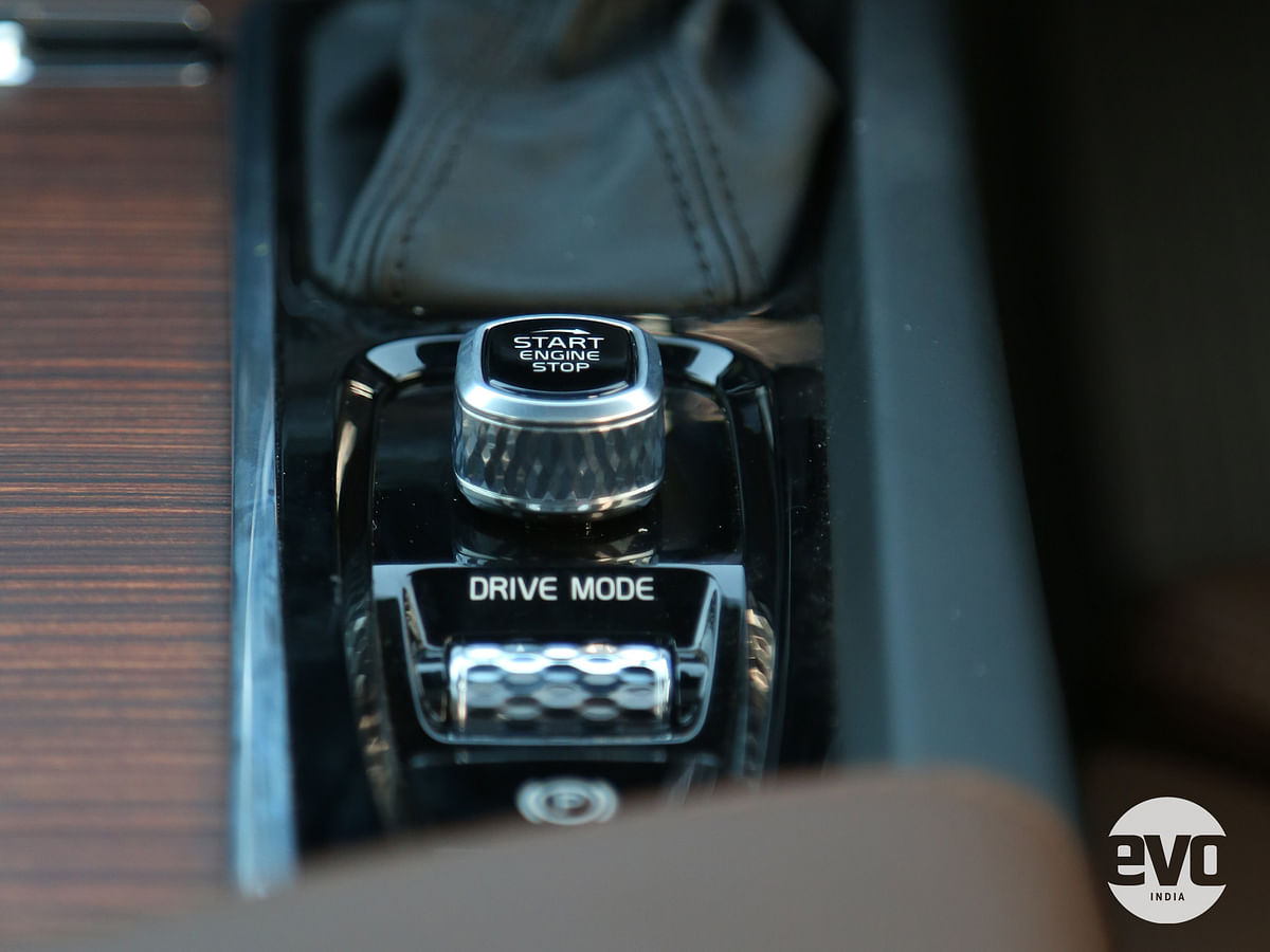 Volvo's twist-to-start knob is one of the coolest in the business