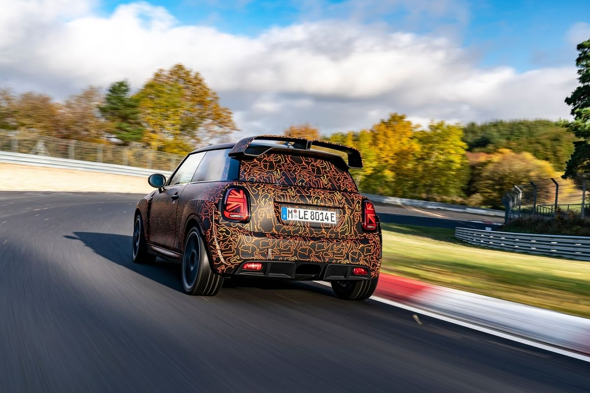Mini Electric GP borrows a lot of components from the current JCW GP
