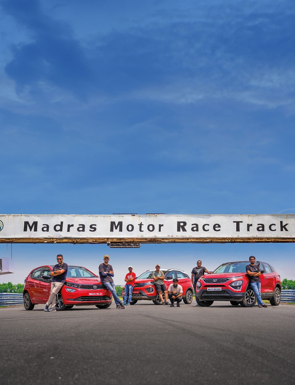 Team evo India at the home of Indian motorsport