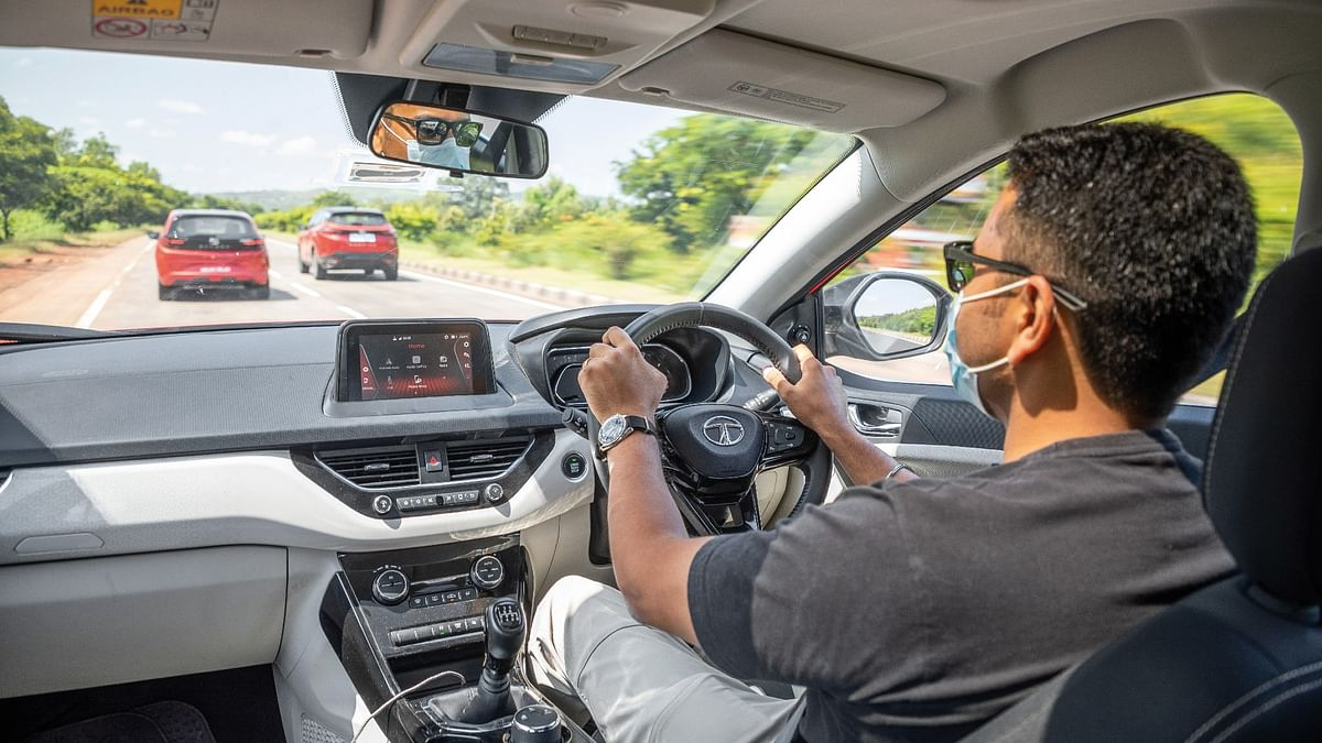The Tata Nexon offers a great driving position