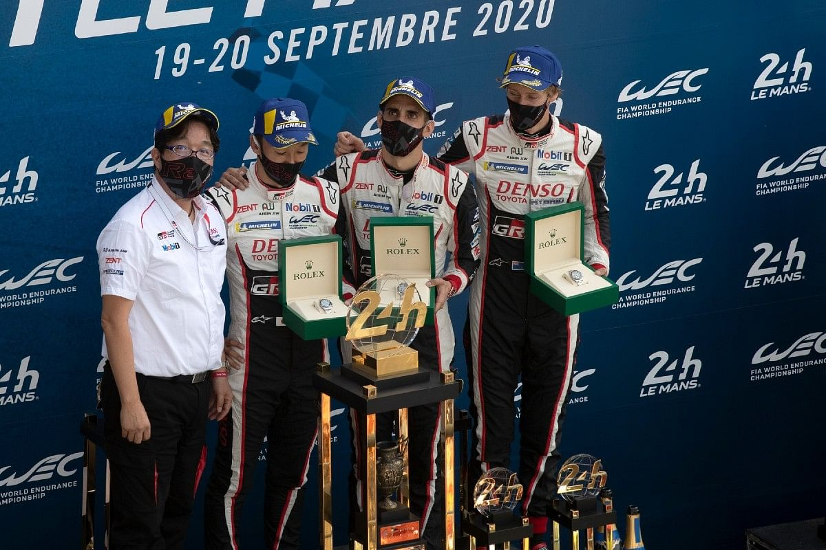 24 Hours of Le Mans winning team - Toyota Gazoo team