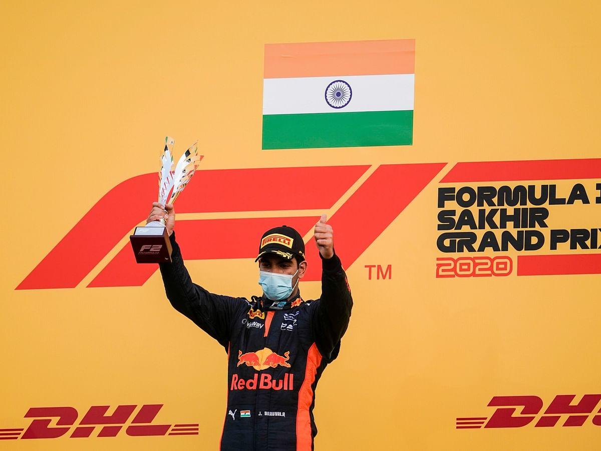 Jehan Daruvala bags maiden F2 win at Sakhir GP