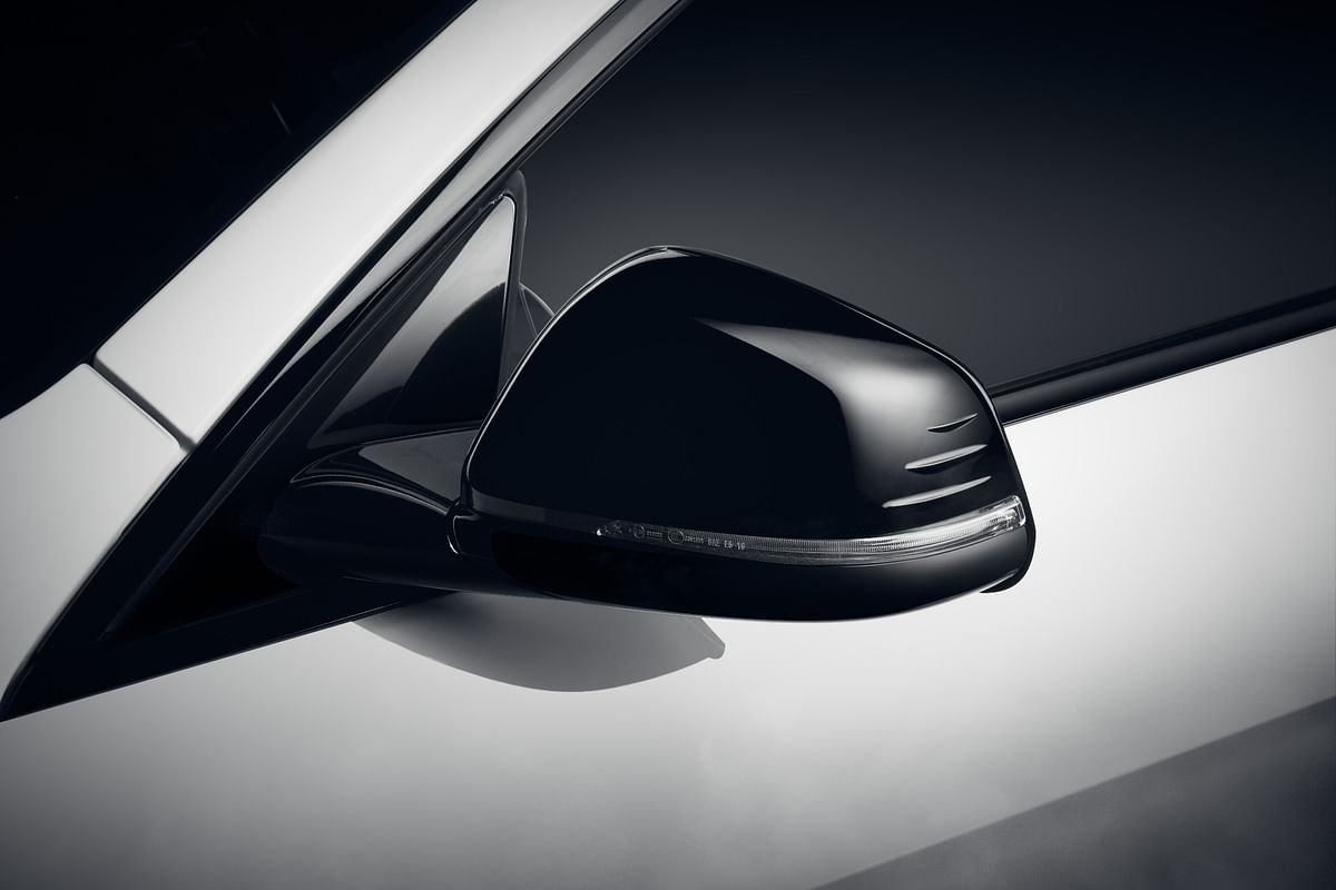 Matt Black Wing mirror caps