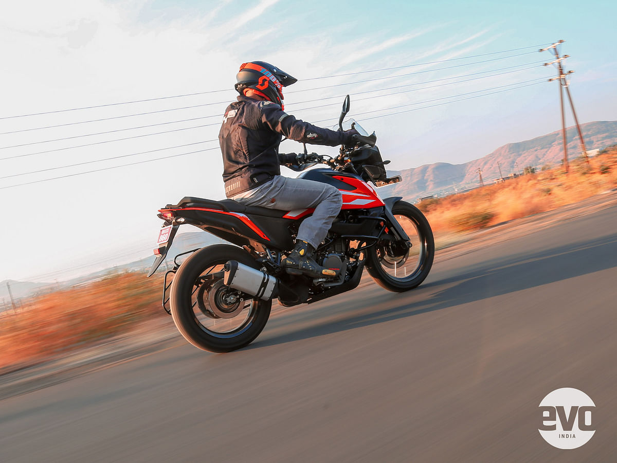 The 250 Adventure is an expensive ticket to get into the Adventure family