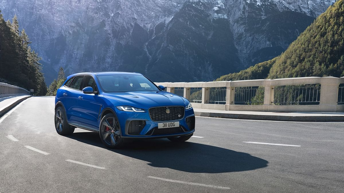 2021 Jaguar F-Pace SVR revealed – fresh face and tech for 542bhp SUV