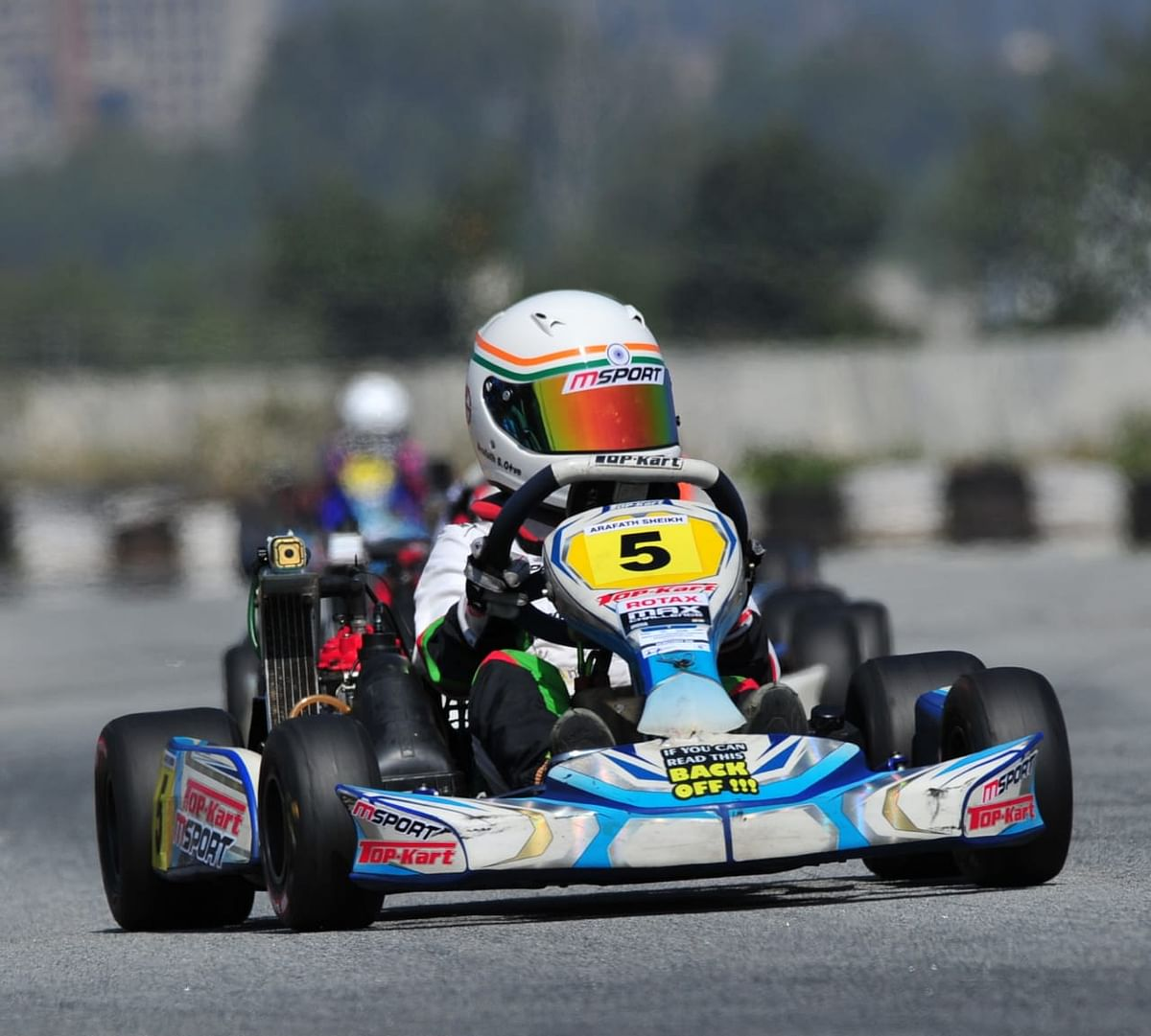 Arafath Sheikh places third in race 1 of Rotax National Championship 2020